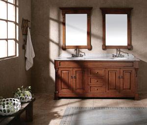 Meble łazienkowe drewniane Bosco